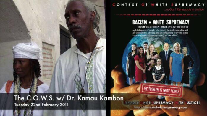 cows interview with Dr. Kamau Kambon