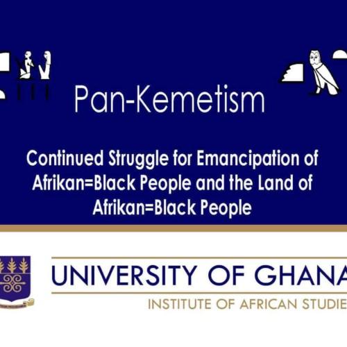Continued Struggle for Emancipation of Afrikan=Black People and the Land of Afrikan=Black People Pan-Kemetism