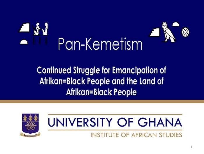 Continued Struggle for Emancipation of Afrikan=Black People and the Land of Afrikan=Black People Pan-Kemetism