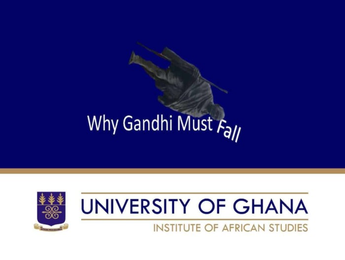 Why Gandhi Must Fall