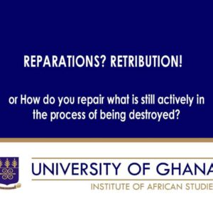 Reparations? Retribution!