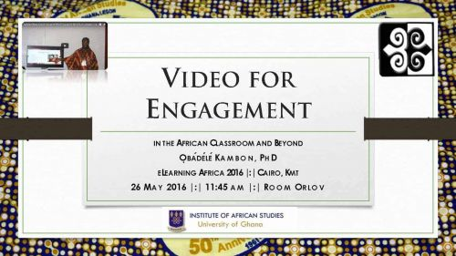 Video for Engagement