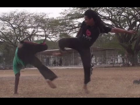 Part 12: CAPOEIRA FIGHT CLUB! Afrikan Combat Capoeira Fight and Sparring Vines