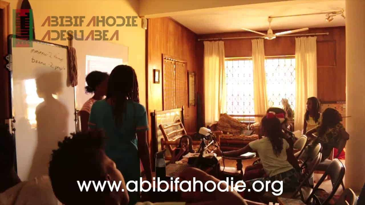 Abibifahodie Adesuabea - Afrikan Liberation School Twi Class 10 10 2017