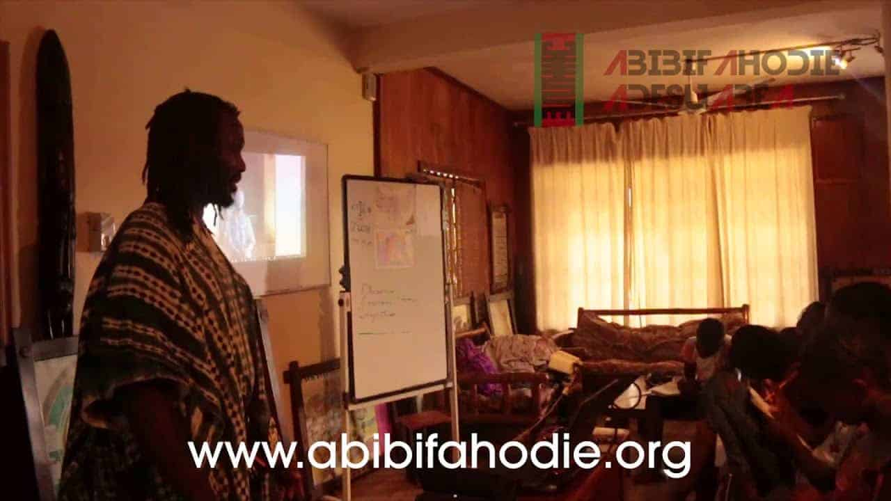 Abibifahodie Adesuabea - Afrikan Liberation School Twi Class 26 9 2017