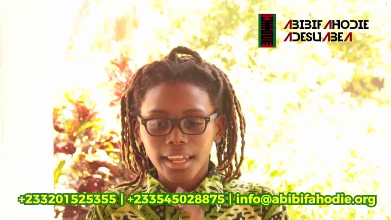Abibifahodie Adesuabea Testimonial #3: Kamau Myers