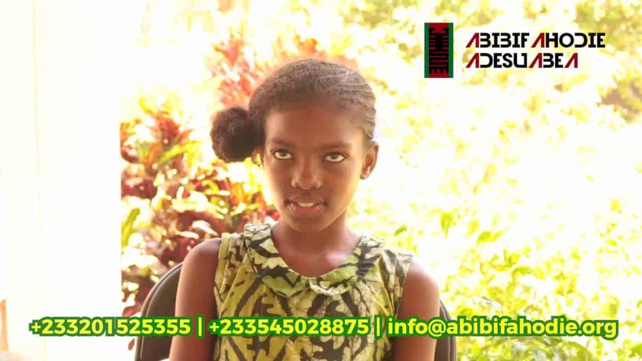 Abibifahodie Adesuabea Testimonial #5: Afia Prempeh
