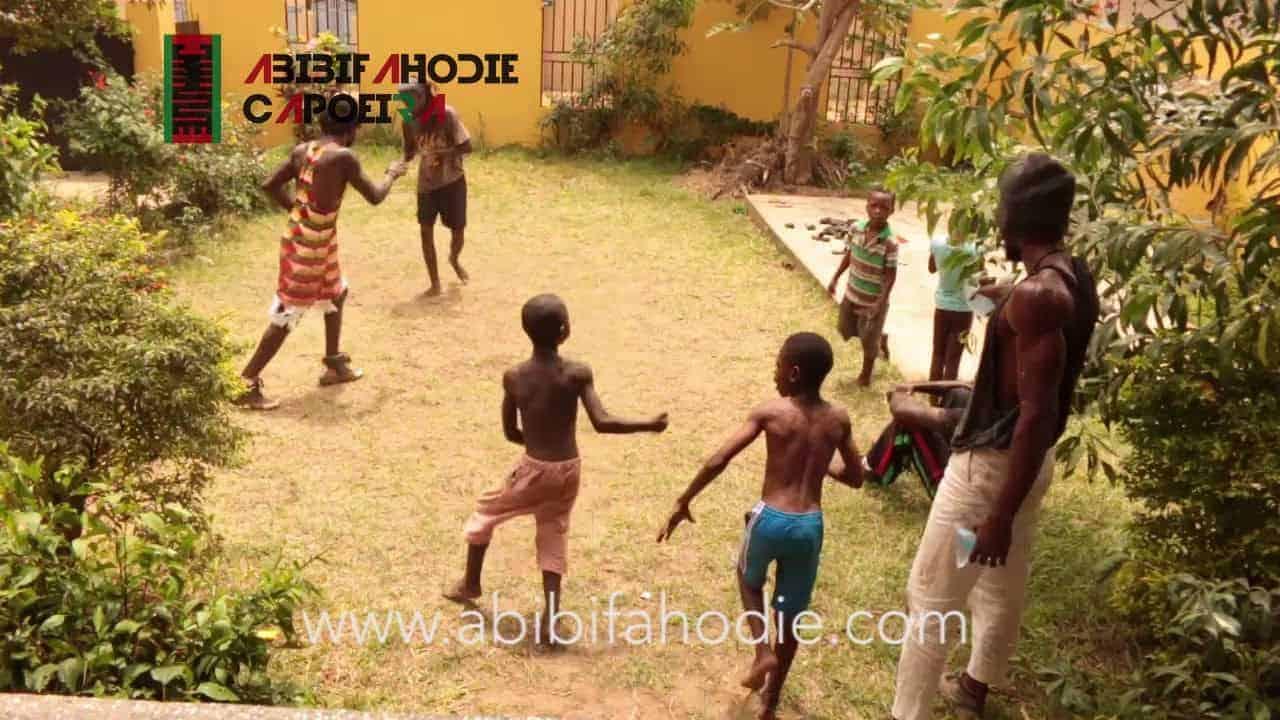 Abibifahodie Asako (Afrikan Kombat Kipura) Light sparring/grappling