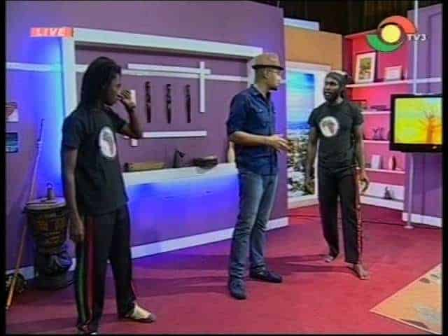 Abibifahodie Capoeira on TV3 Sunrise Program - Ghana