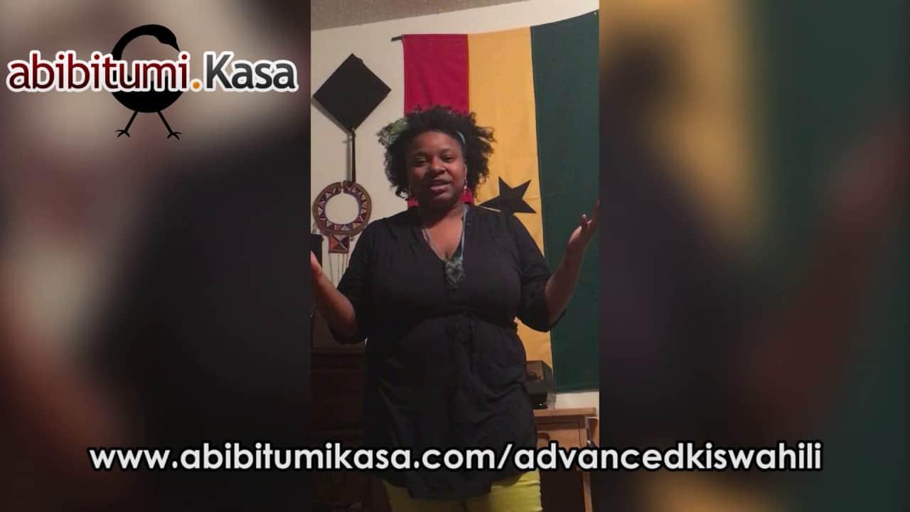 Advanced Kiswahili Study Group Promo Video