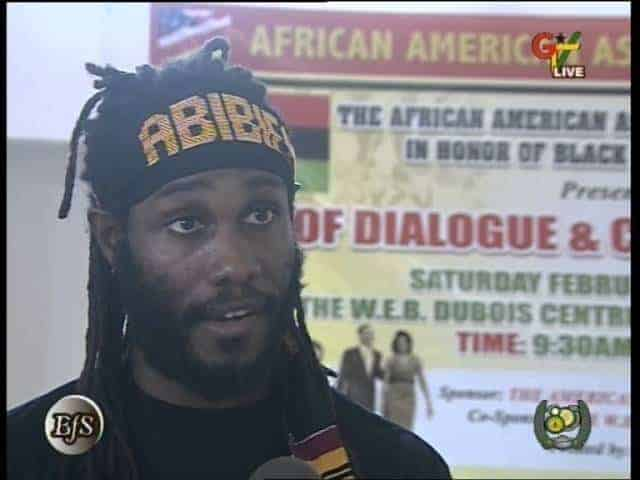 Ɔbɛnta: The Berimbau of Ghana: Dr. Ọbádélé Kambon interview on GTV