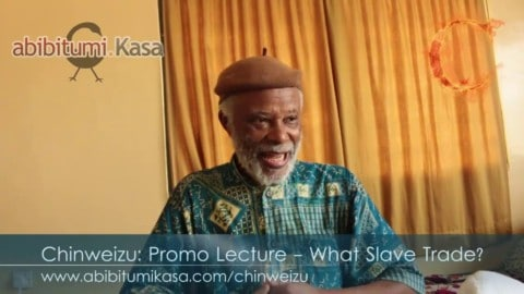 "Chinweizu's Reply to Henry Louis ""Skip"" Gates, Jr.: What Slave Trade?!?"