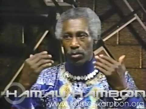 Dr. Kamau Kambon Uncut Interview Video on WAUG 5-13-1998