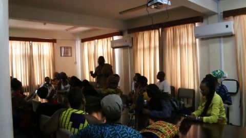 Dr. Ọbádélé Kambon: Repatriation Discussion with HABESHA youth
