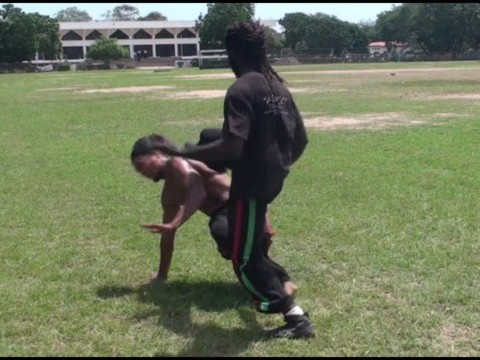 Part 9: CAPOEIRA FIGHT CLUB! Abibifahodie Afrikan Combat Capoeira Fight and Sparring Vines