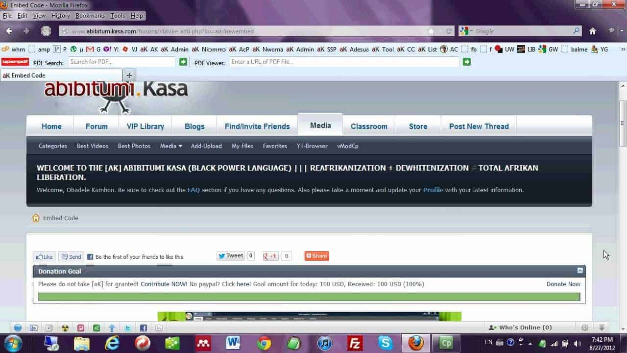 How to Navigate and Use Abibitumi Kasa Website! 2012-2013