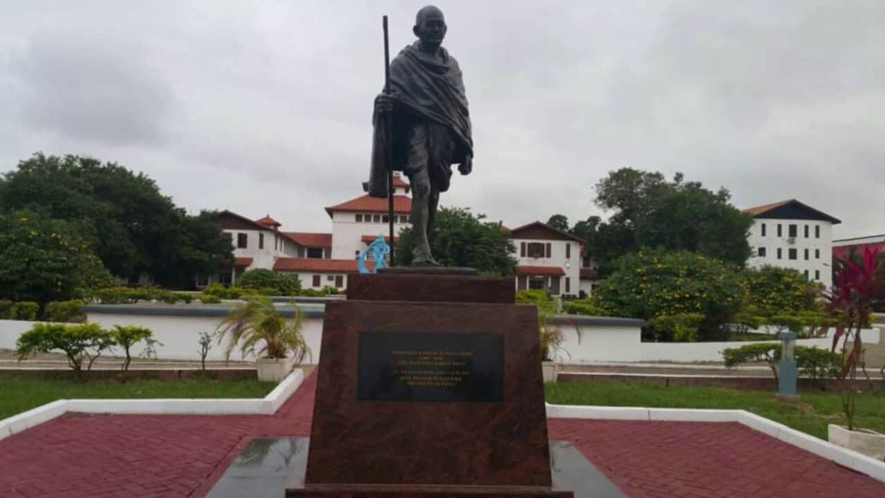 Obadele Kambon, PhD: Interview on Gandhi with Outlook Magazine of Delhi, India