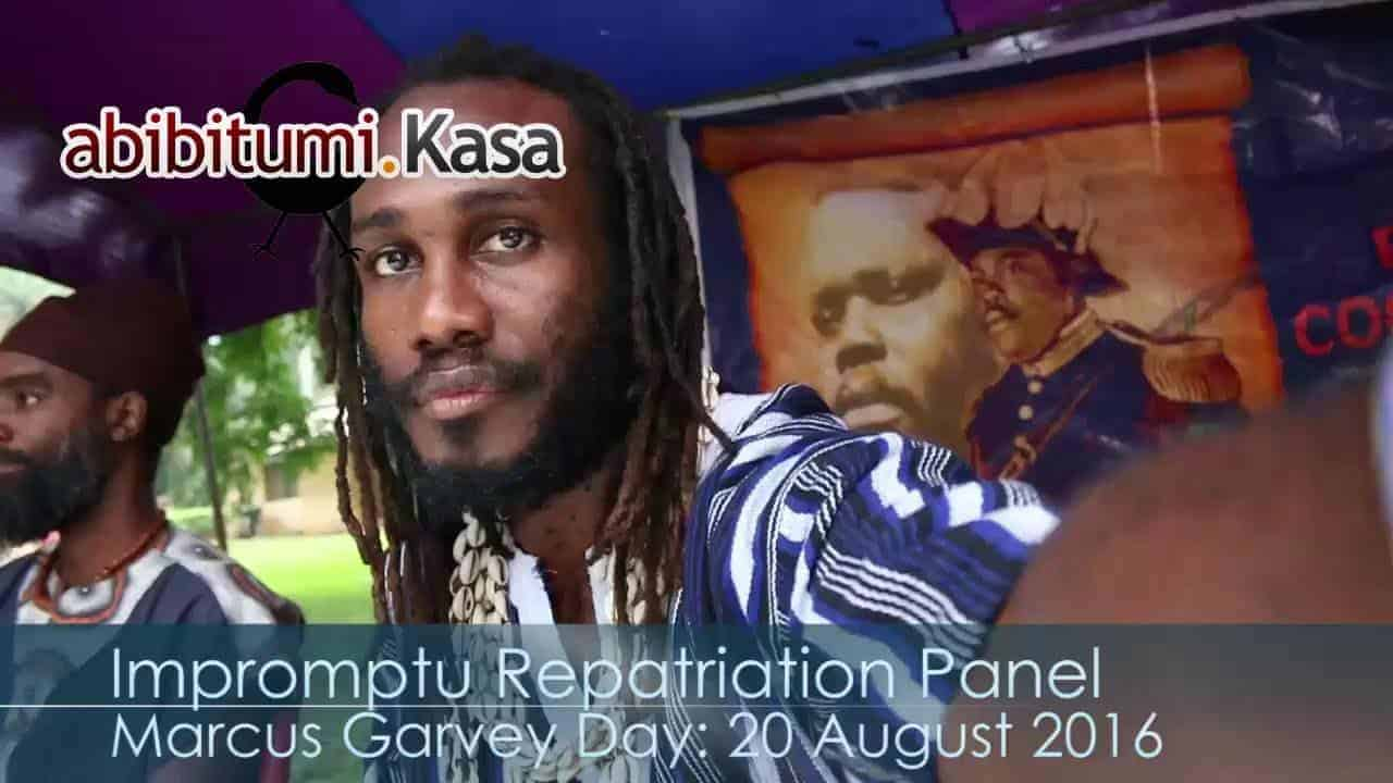 Marcus Garvey Day 2016: Impromptu Repatriation Panel (Twi & English)