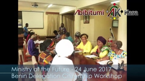 Ministry of the Future: Benin Delegation Citizenship Workshop at IAS
