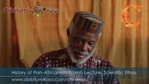 NEW Chinweizu! History of Pan-Africanism I Promo: Scientific Ethos