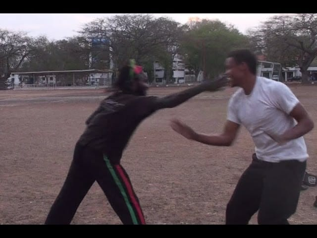 Part 15: Capoeira Fight in Africa