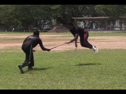 Part 8: Afrikan Combat Capoeira Stick Fighting