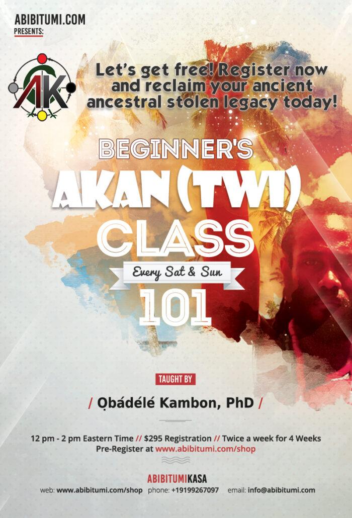 Intro to Twi 101