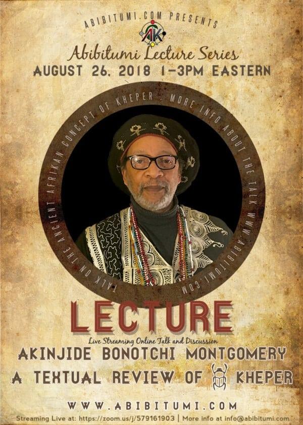 Seba Akinjide Bonotchi Montgomery: A Textual Review of Kheper