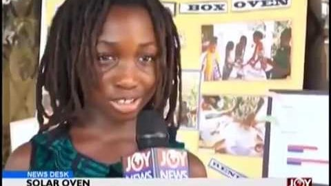 Abibifahodie Adesuabea Solar Oven Project on JoyTV News!!!