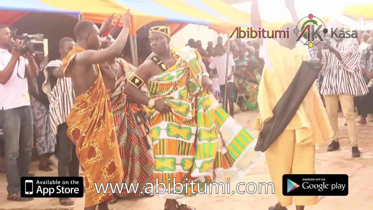 Dancing at Mampɔn Odwira: Banmu Kyidɔmhene ne Banmuhene Asaw