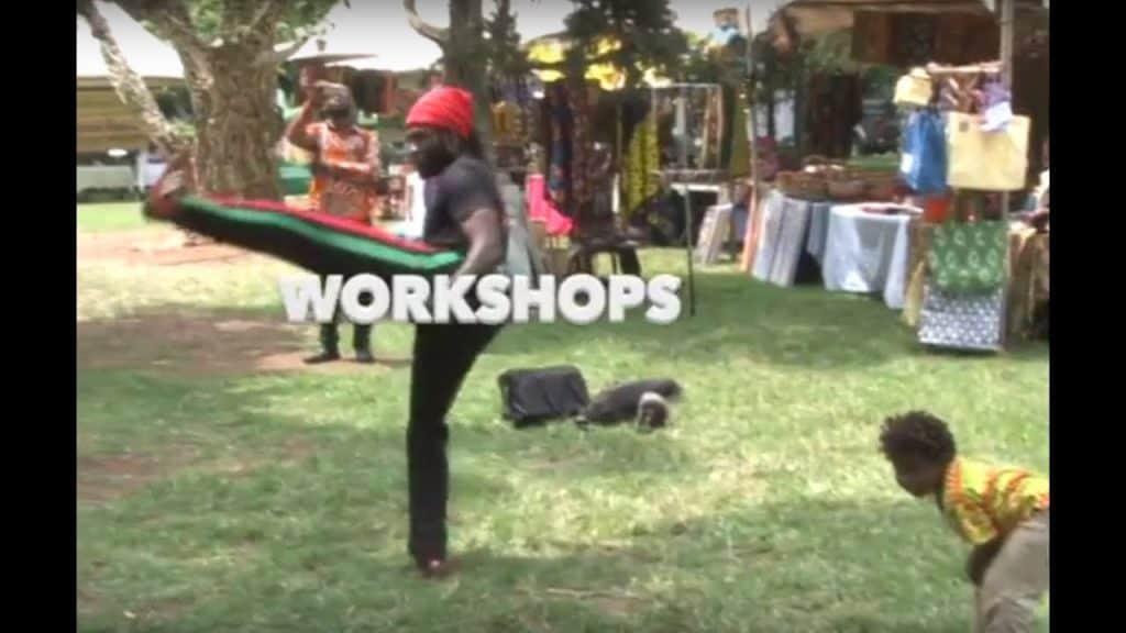 Dr. Kambon's Asako (Afrikan Combat Capoeira) Featured at ACAWF 2019