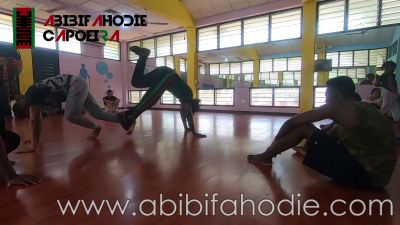 Abibifahodie Asako (Afrikan Combat Capoeira) Class at University of Ghana