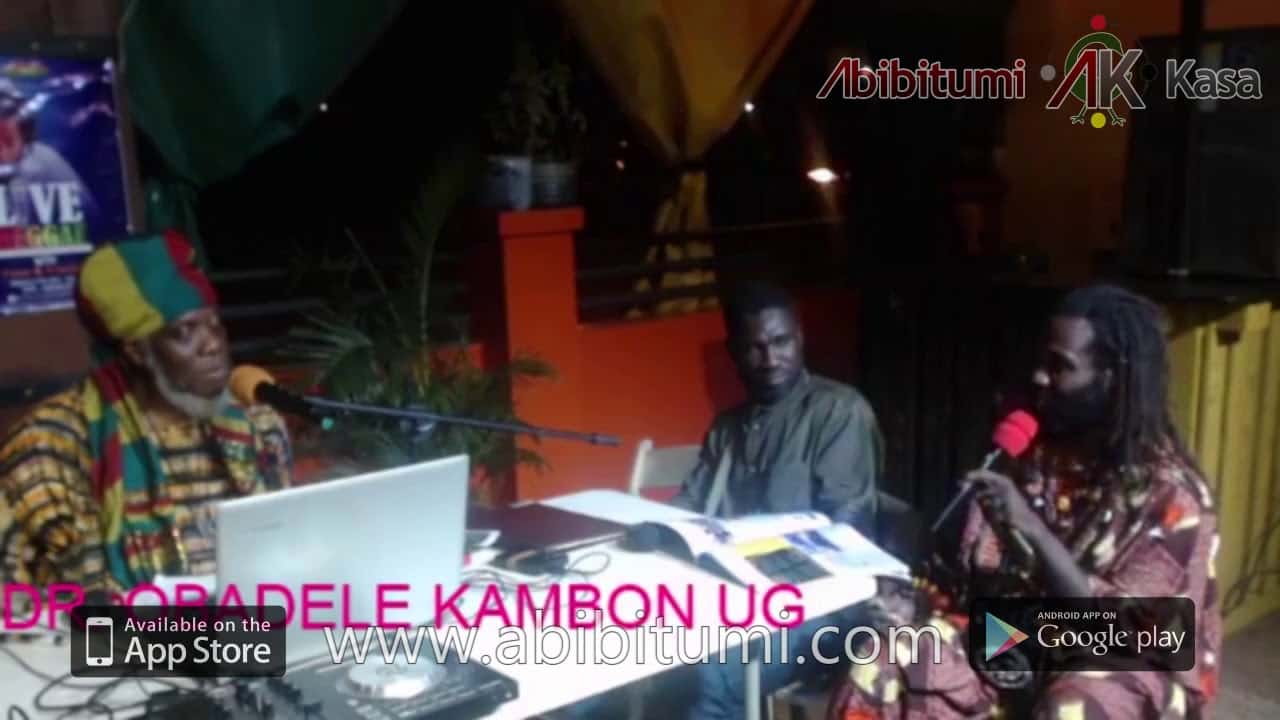 "Mutabaruka Interviews Dr. Ọbádélé Kambon on ""400 years"" and Year of Return"