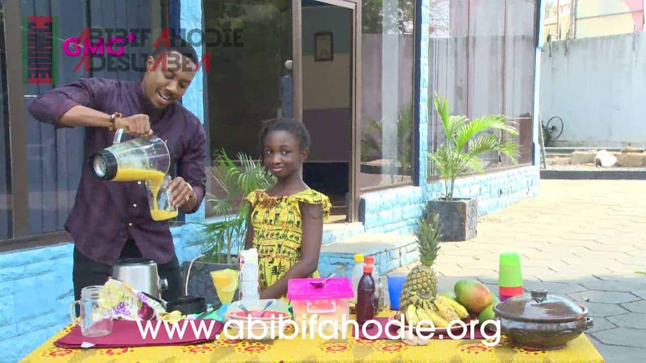 Ama Kambon Makes Smoothies on MetroTV's GMG+