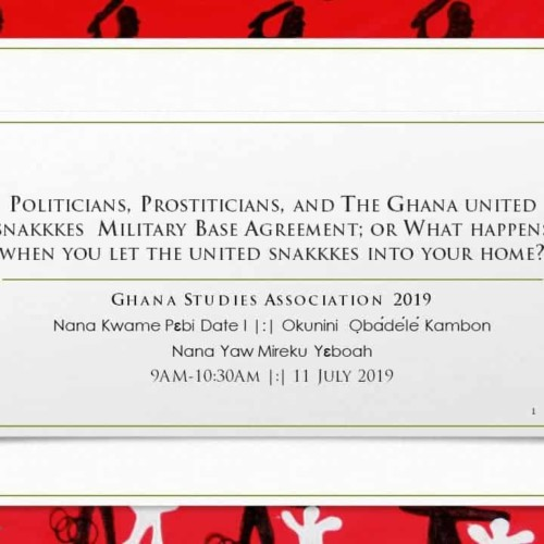 Ghana us military base agreement