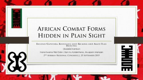African Combat Forms