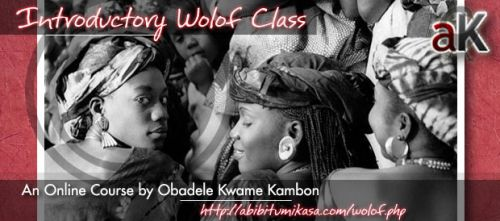 Introductory Wolof Classes