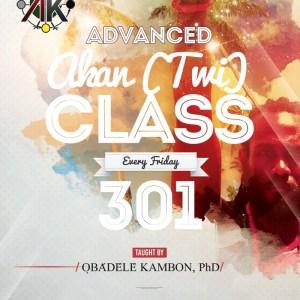 Advanced (Twi) Class Online 301