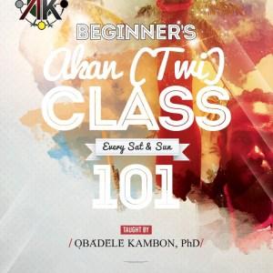 Beginner's Akan (Twi) Class 101