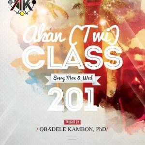 Intermediate Akan (Twi) Class 201 Live Online