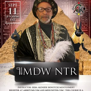 Mdw Ntr (Medew Netcher) Class Live Online