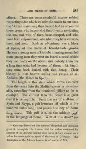 moorish pre columbiann contact